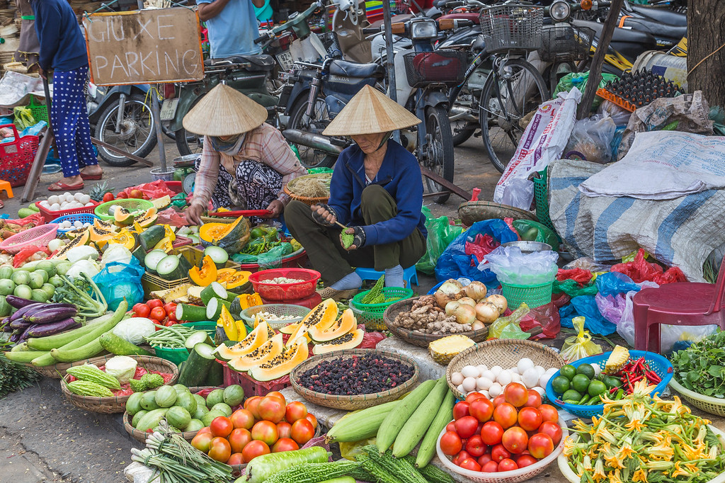Local Markets in Hoi An Vietnam