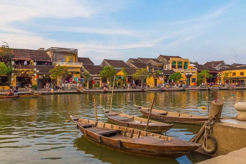 Hoi An Ancient Town at sunset