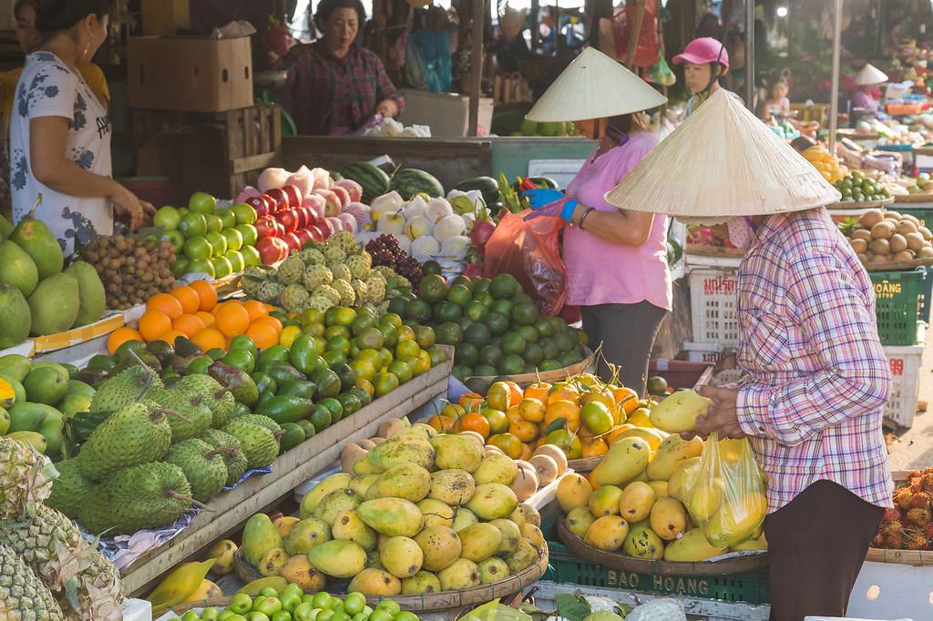 Fruit Markets in Hoi An, Vietnam