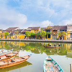 Hoi An Ancient Town in the morning