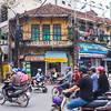 Busy Traffic in Hanoi, Vietnam