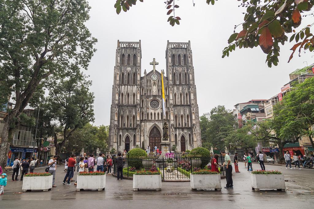St Joseph Cathedral in Hanoi, Vietnam