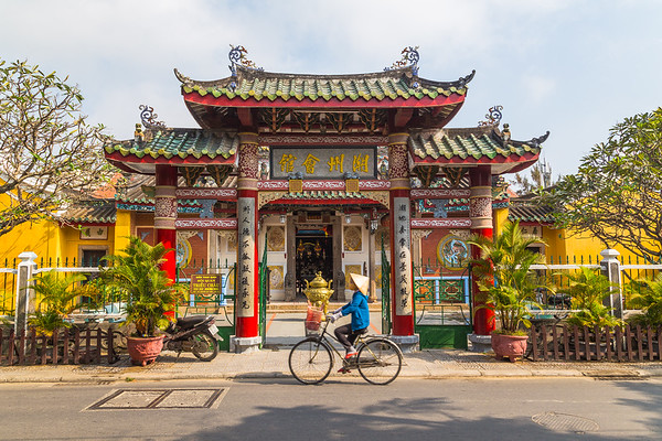 Trieu Chau Assembly Hall in Hoi An Vietnam