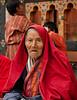 Gasa Tshechu festival at 7th century monastery 9500': People gathering