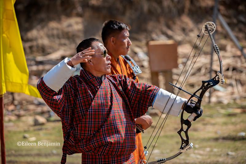 Haa Valley: Archery in Damchu Village
