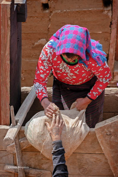 Gompat Village: Building a new rammed earth adobe house