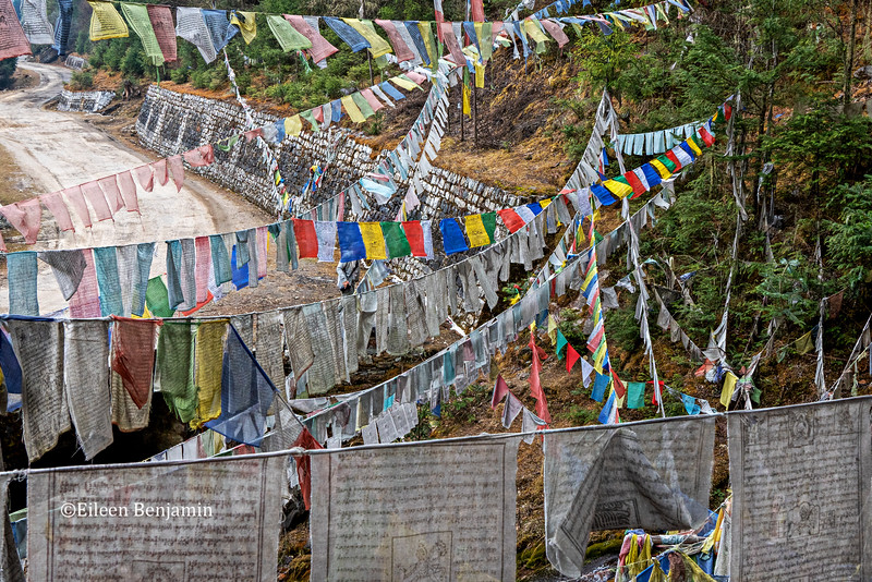 Paro: Prayer flags