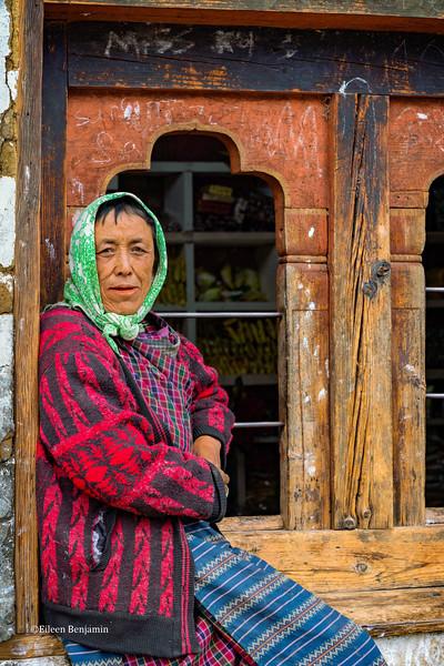 Residents of Katsho Village