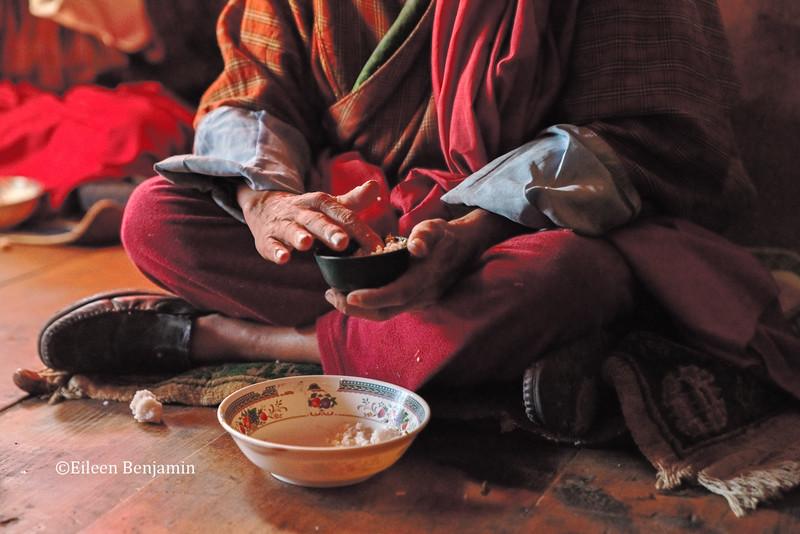 "Drukgyel Dzong: ""Rimdro"" blessing"