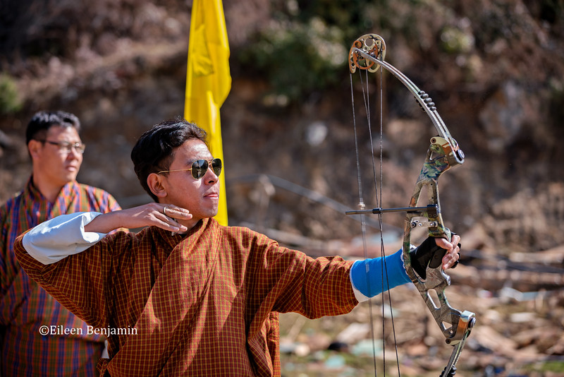 Haa Valley: Archery in Damchu Village