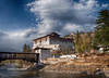 Nemi Zampa: Covered bridge leading to Paro Dzong