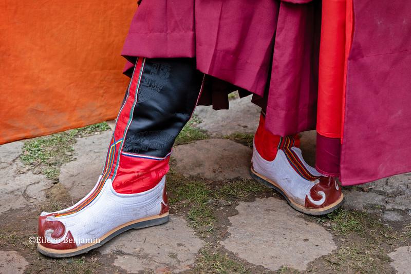 Gasa Tshechu festival at 7th century monastery 9500': Preparation begin