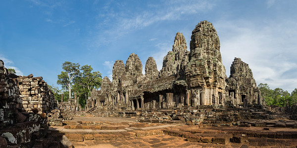 Bayon Temple at Angkor Thom, Siem Reap.