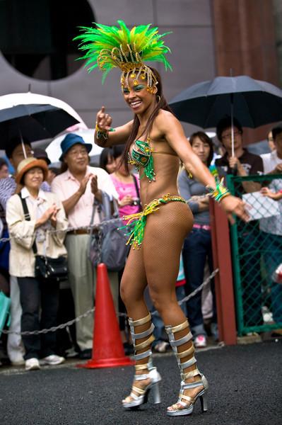 Samba Sancha Carnival, Sangenjaya, Tokyo