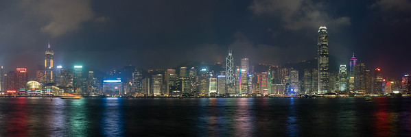 Hong Kong super panorama