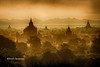 Sunrise at Shwesandaw Pagoda - Bagan- Bagan