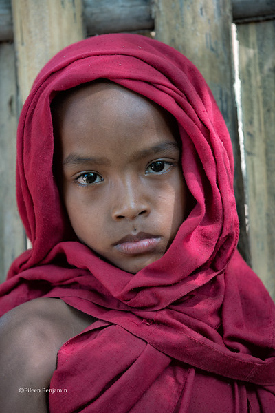 Young monk in Ohn Ne village - Mandalay