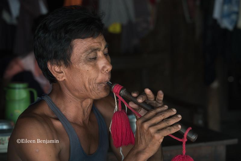 Fluist in Ohn Ne village - Mandalay