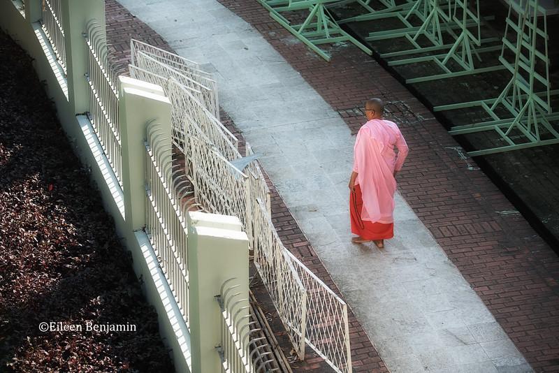 Sunrise at Shwedagon Pagoda -Yangon
