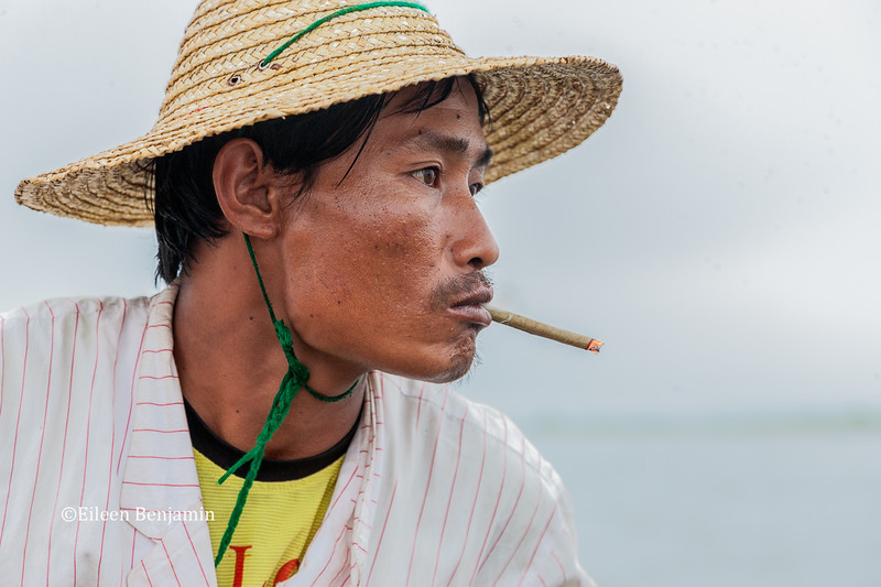 Fisherman on Inle Lake - Myanmar