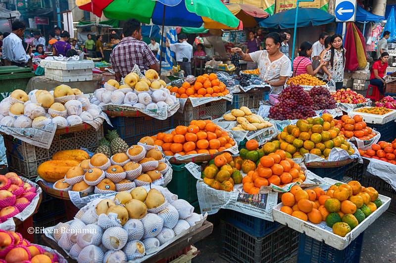 Downtown Chinatown Market, Yangon