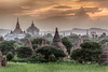 Shwezigon Pagoda Pillars - Bagan, Burma
