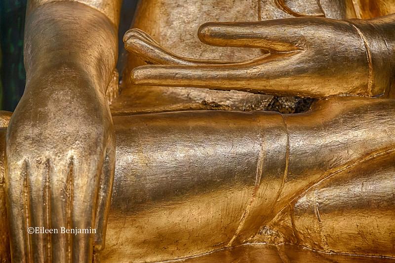 Buddha at Kaba Aye Pagoda, Yangon, Burma