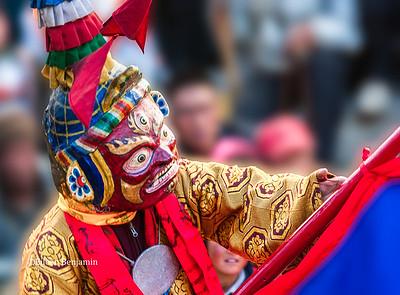 TiJi Festival dancer