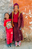 Young Monk and friend in Lo Manthang Village