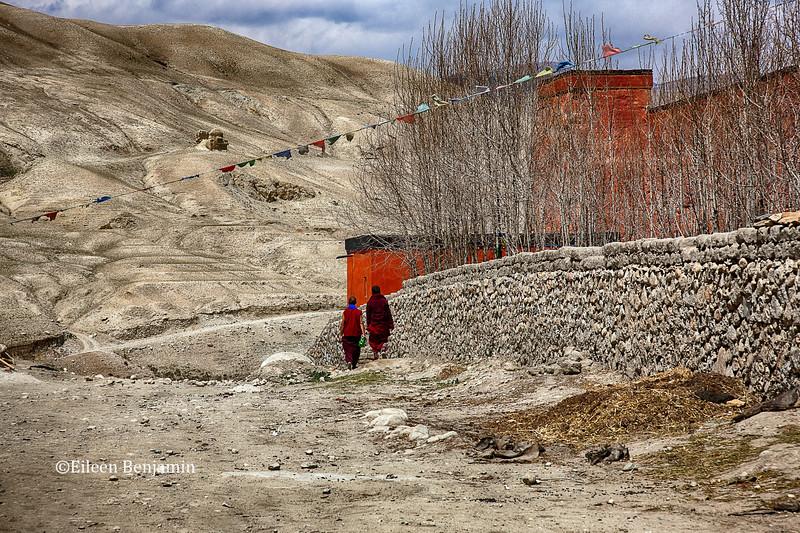 Entrance to Lo Mantang, Nepal