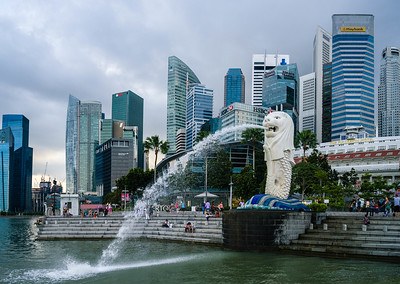 Merlion - Marina Bay