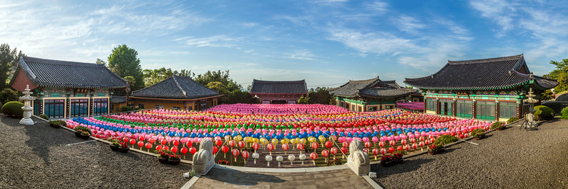 Buddha's Birthday 2014 at Geungnaksa Temple