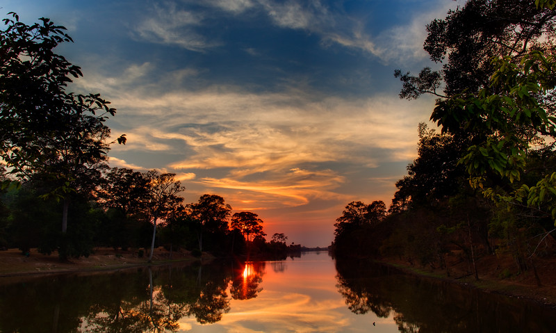 Angkor Thom Sunset