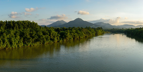 The Huong river outside of Hué.