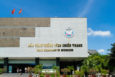 The War Remnants Museum tells the story of the Vietnam war, Saigon.
