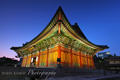 Deoksugung Palace at Blue Hour