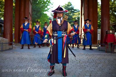 Changing of the Guard at Deoksugung Palace, Seoul