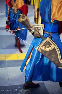 Guards at Deoksugung Palace