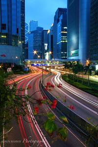Blue Hour Rush Hour, Hong Kong