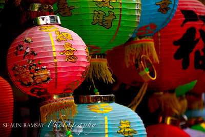 Chinese Lanterns at Stanley Market, Hong Kong