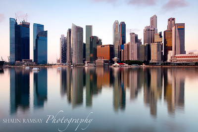 Downtown Singapore Sunrise