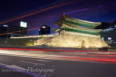 Rush Hour at Namdaemun, Seoul Korea