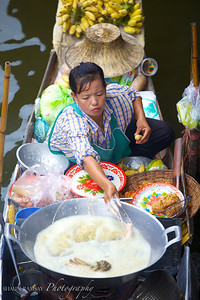 Floating Market Vendor