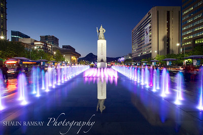 Statue of Admiral Yi, Seoul, Korea