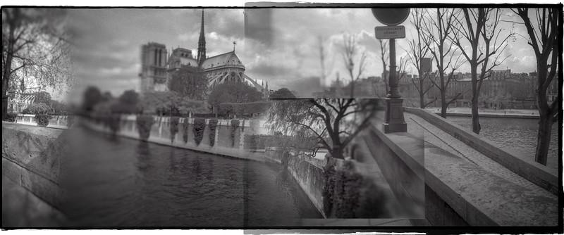 Notre Dame, River Seine [Paris, France]