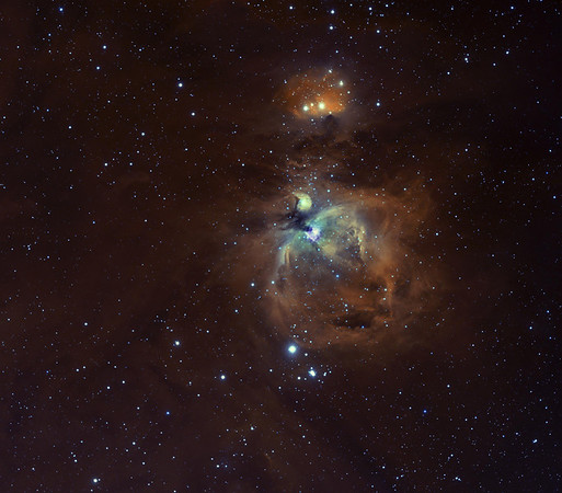 742nm IR+Ha on M42