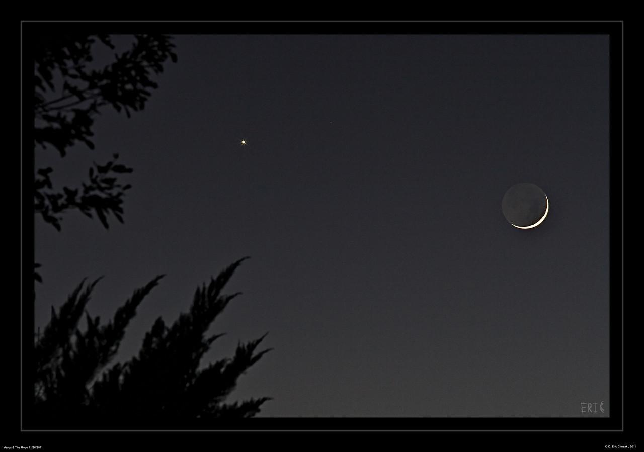 Moon & Venus - 11/26/11