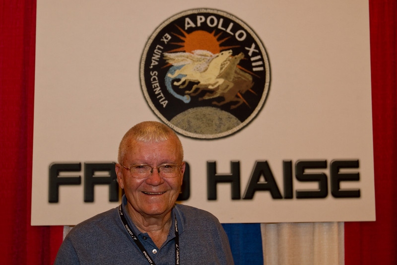 Another photo of Fred Haise.