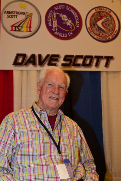 """Colonel Dave Scott was the first to drive the lunar rover, landing his Apollo 15 LM Falcon in the spectacular northern mountains of the Hadley-Apennine region in mid-1971. Apollo 15 was the first real scientific exploration of the moon, and the two moonwalkers (Scott and Jim Irwin) spent nearly three days on the surface. The entire crew was schooled in geological skills and it paid off with an unprecedented booty of meaningful rock samples and lunar photography. Apollo 15 was the first """"J-mission,"""" utilizing a heavy-lift Saturn V, and rechargeable backpacks for extended lunar stays."""
