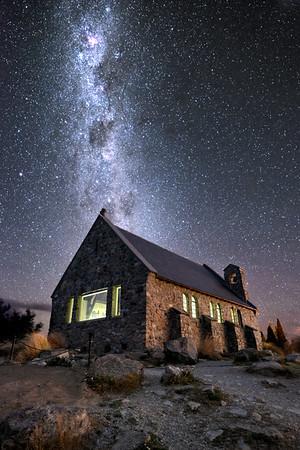 Love From The Universe || Tekapo New Zealand